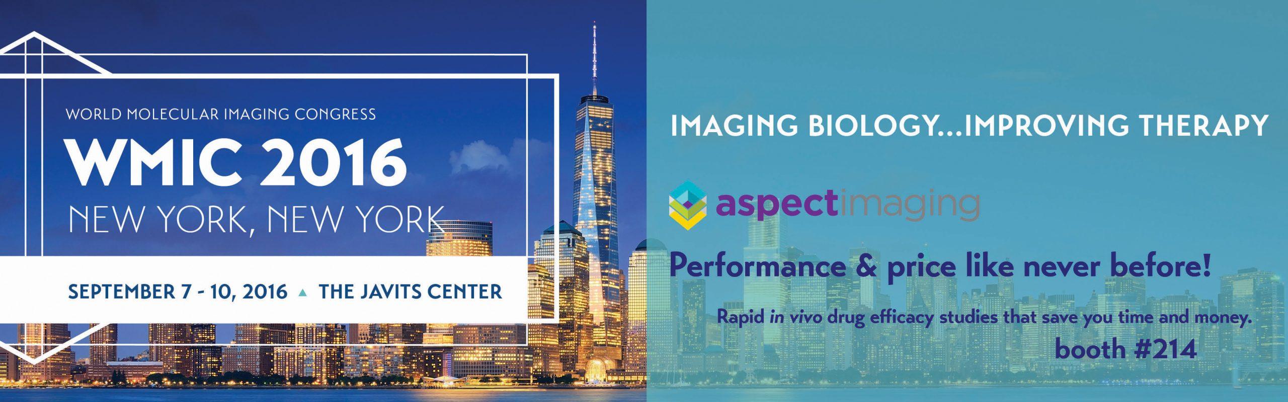 2016. Sep. 6–12. Prof. Nagasawa will give a talk at World Molecular Imaging Congress 2016, New York.